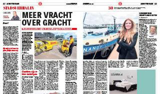 More freight across the canal – Article Telegraaf