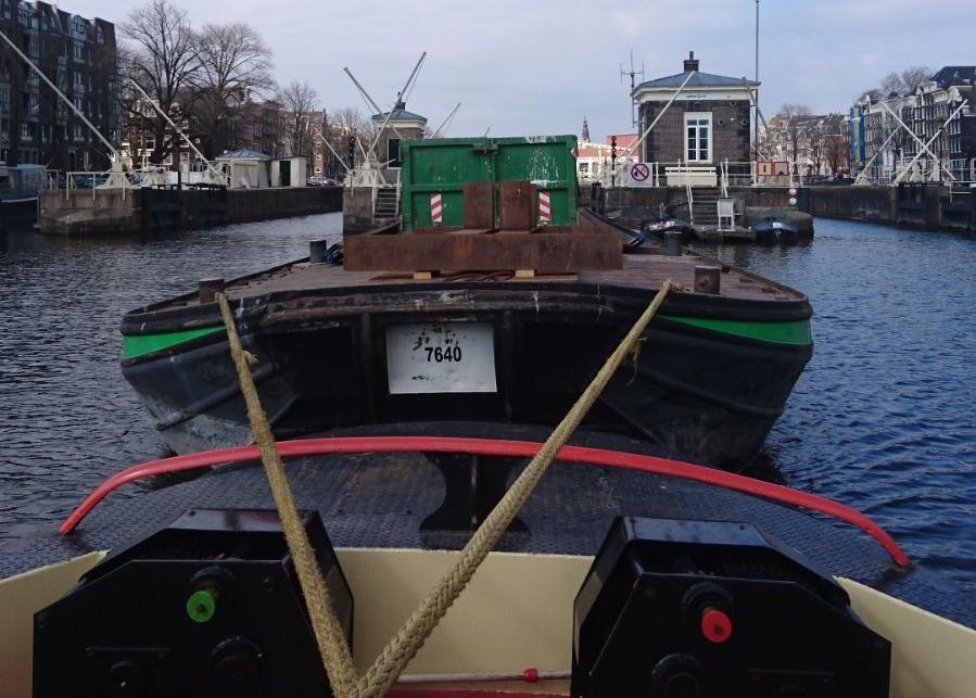 Duurzaam transport over water