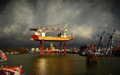 Transport van diverse materialen Workfox van Rotterdam naar IJmuiden