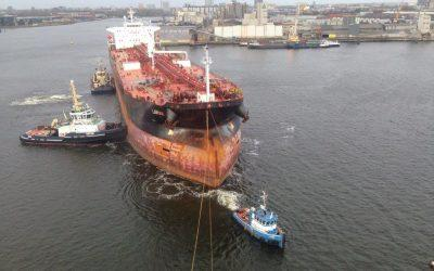 Collection operations with tugboat Joke