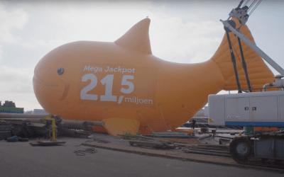 Staatsloterij – Grootste opblaasbare vis ter wereld