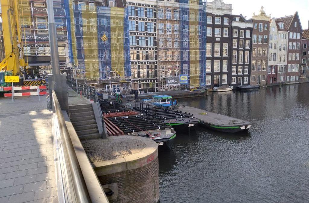 Various projects Warmoesstraat