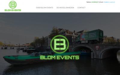 Blom Events: Voor al uw evenementen op het water